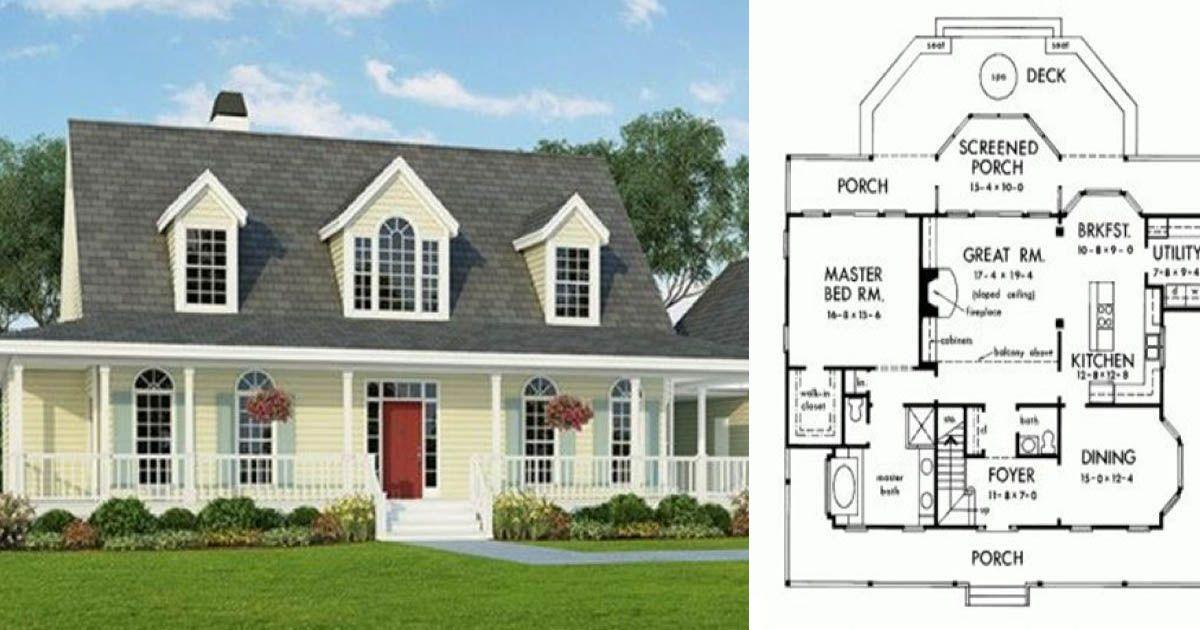 6 Floor Plans For Your All American Farmhouse Dream